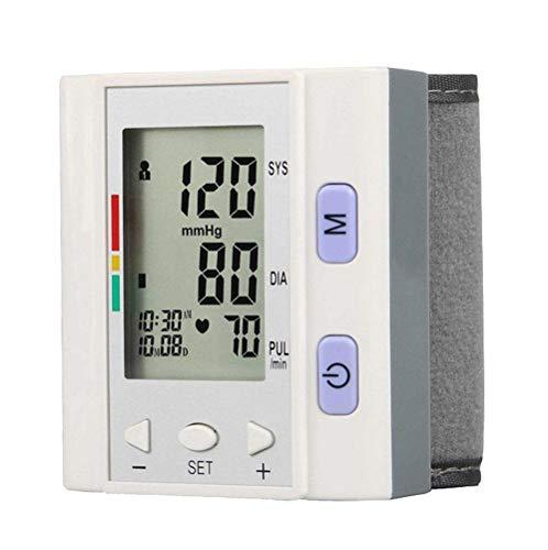 Esfigmomanómetro electrónico tipo brazo, indicador IHB de detección de frecuencia cardíaca y monitor de frecuencia cardíaca de 4 * 30 grupos.