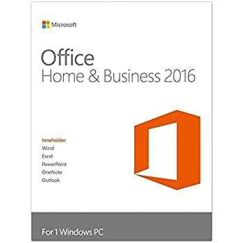 microsoft office home and business 2016 lizenz 1 pc. Black Bedroom Furniture Sets. Home Design Ideas
