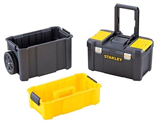 Stanley STST1-80151 Essential Rollende Werkstatt, Belastbarkeit bis zu 20 kg, Metallverschlüsse,...