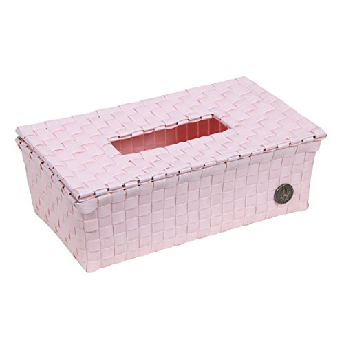Handed By Luzzi Tissue scatola kleenex con coperchio polvere rosa chiaro