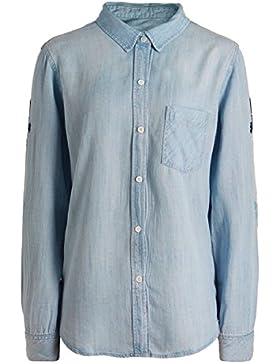 Rails Mujeres camisa de mezclilla bordado cheyanne Azul