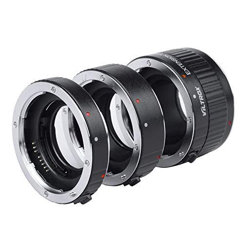 Viltrox metallo Monte messa fuoco automatica AF macro tubo di prolunga set anello 12 20 36MM per fotocamera DSLR Canon EF EF S Lens 760D 700D