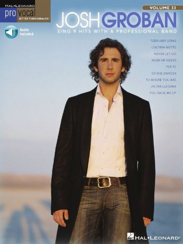Josh Groban Songbook: Pro Vocal Men's Edition Volume 33 (English Edition)