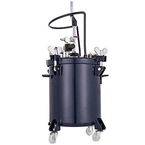 Spray Paint Fall (BananaB 40L Paint bucket Spray Paint Pressure Pot Tank Manual 90PSI Professionelle Sprühfarbe Sprayer Farbspritzpistole Druckbehälter Sprayer Regulator Air Agitator)