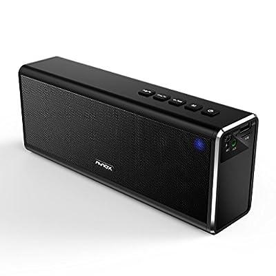 Enceinte Bluetooth AVIOX 20 W haut-parleurs Bluetooth Portable Stéréo de voyage pour iphone, iphone, android, ordinateur portable et tablette