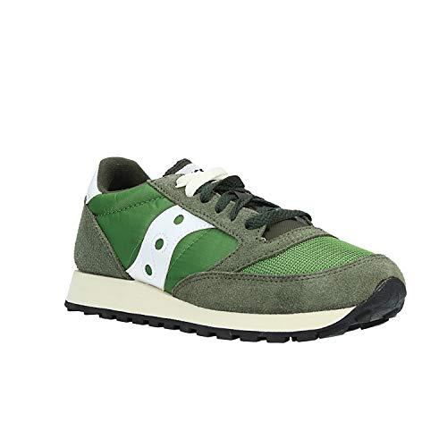 Saucony, uomo, jazz o vintage, suede/nylon, sneakers, yellow navy, 41 eu