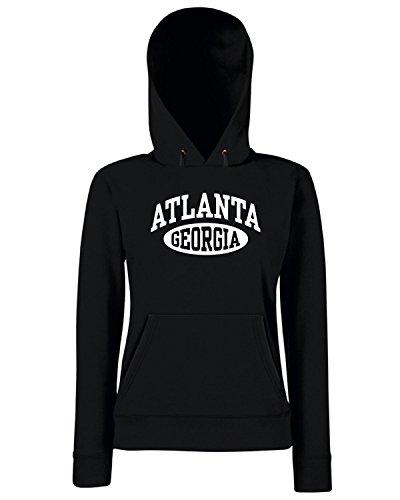 T-Shirtshock - Sweats a capuche Femme TSTEM0137 atlanta georgia womens Noir