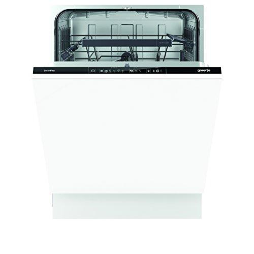 Gorenje GV 64160 SmartFlex Advanced/Vollintegrierbarer Geschirrspüler/A++/13 Maßgedecke/262 kWh/Jahr/59,6 cm/Total AquaStop/schwarz