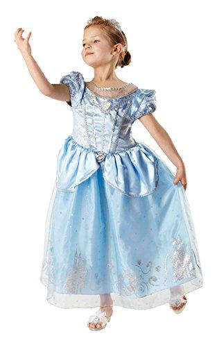 Rubie 's offizielles Jahrestag-Cinderella-Kinder-Kostüm,Größe ()