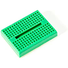 Universal 170 Pin mini breadboard with sticky pad green color for Arduino Raspberry Pi and other fun stuff