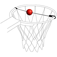 Original pure2i mprove Baloncesto Objetivo de Trainer