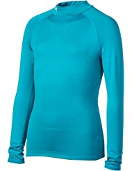 Under Armour Girls The CG Fitted Mock Top de compression fille