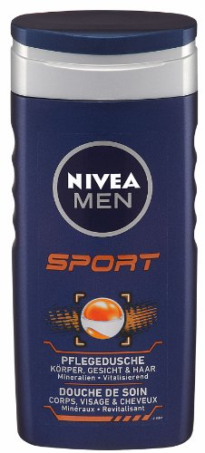 Nivea For Men Pflegedusche Sport, 4er Pack (4 x 250 ml)