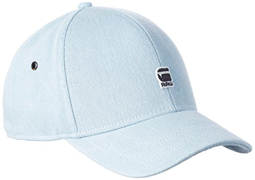 G-STAR RAW Men's Originals Cart Baseball C Cap, Blue (Lt Aged 424), One Size
