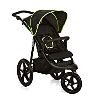 Hauck Runner Jogger Style One Hand Fold Pushchair with Raincover