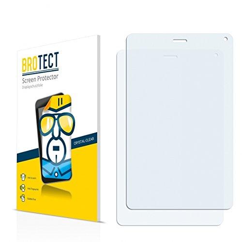 2X BROTECT HD Clear Bildschirmschutz Schutzfolie für Allview Viva H7 (kristallklar, extrem Kratzfest, schmutzabweisend)