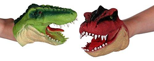 nosaurier Dino Puppe T Rex Fingerpuppe Kinder Spielzeug (Dinos Spielzeug)