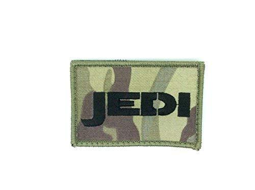 Jedi MultiCam Star Wars Airsoft Klettverschluss Patch