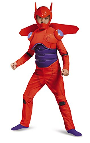 Disney Big Hero 6 Red Baymax Deluxe Child Costume Small 4-6 (Big Hero 6 Baymax Kostüm)