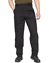 TACVASEN Militaire Airsoft Ripstop Pantalon Cargo Homme