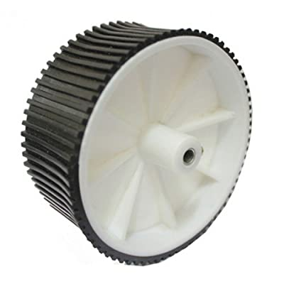 Robosoft Systems 100X40 Wheels For 8Mm Shaft (White)