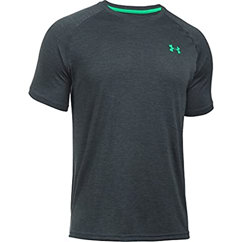 Under Armour Men's Tech Short-Sleeve T-Shirt, Stealth Grey, Large