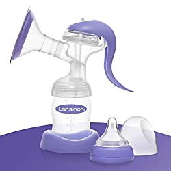 Lansinoh Handmilchpumpe - sanftes und effektives Abpumpen