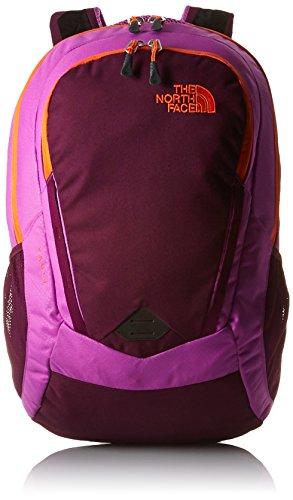 The North Face W Vault - Mochila para mujer, color violeta / naranja, talla OS