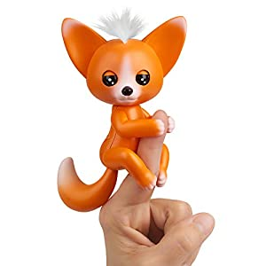 Wow Wee Fox-Mikey Mascota Interactiva, Color Naranja (3571)
