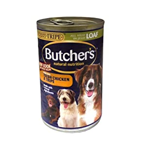 Butchers Tripe & Chicken Dog Food 12 X 400G from Monster Pet Supplies