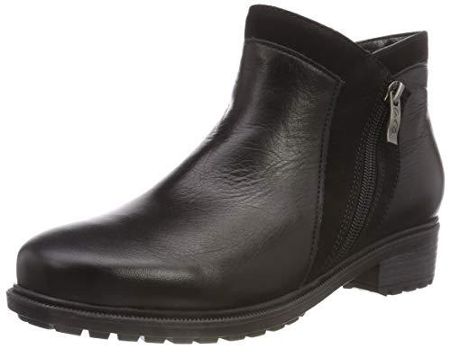 Kansas Schuhe (ara KANSAS, Damen Stiefeletten, Schwarz (Schwarz 61), 38 EU (5 UK))