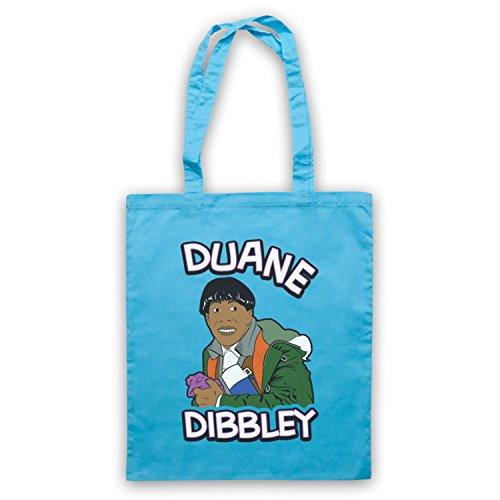 Inspiriert durch Red Dwarf Cat Duane Dibbley Inoffiziell Umhangetaschen Hellblau