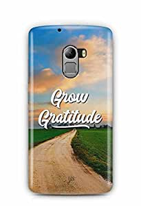 YuBingo Grow Gratitude Designer Mobile Case Back Cover for Lenovo A7010
