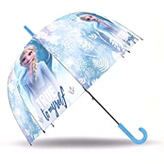 Idea Regalo - Ombrello Manuale Frozen 2 Elsa Disney - 18