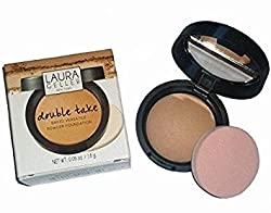 Laura Geller Double Take Baked Versatile Powder Foundation, Medium, 0.06 Ounce (Trial Size)
