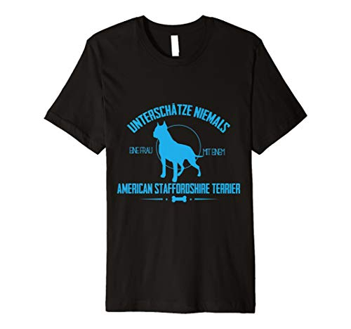 Staffordshire Bull Terrier Tshirt Glitzer Hund Geschenk Idee