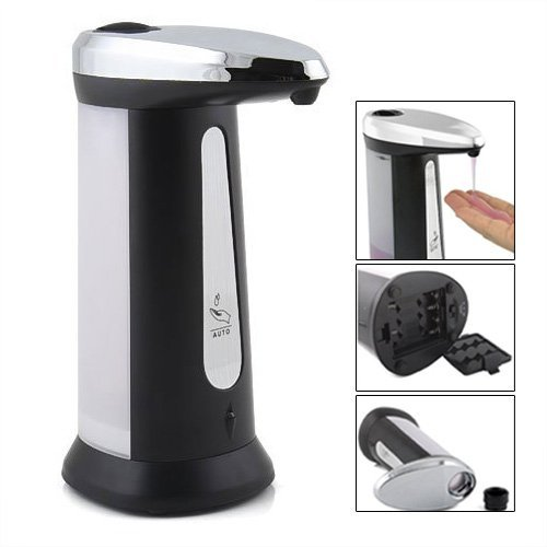 toogoor-appareil-de-detergent-de-detection-automatique-argent-plus-noir