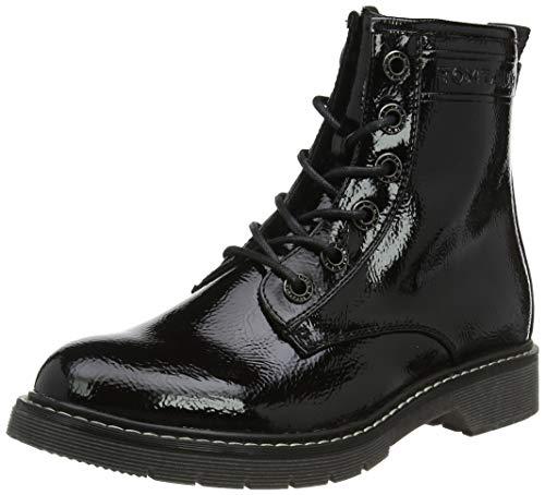 TOM TAILOR Damen 7992801 Stiefeletten, Schwarz (Black 00001), 40 EU
