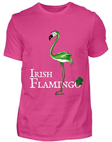 tiges St Patrick's Day Outfit für (Teil-) irische Flamingo-Liebhaber - Herren Premiumshirt -S-Pinky ()