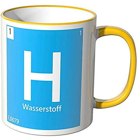 Wandkings® Tasse, Element Wasserstoff