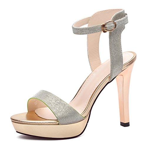 Chaussures femme HWF Talons Aiguilles Stiletto Sexy Femmes Sandales Femmes Chaussures