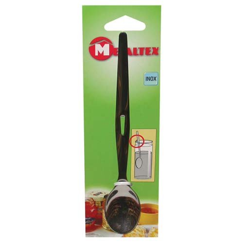 Metaltex 258301 Cuillère à Confiture 19cm Acier Inoxydable, Argent, 30 cm