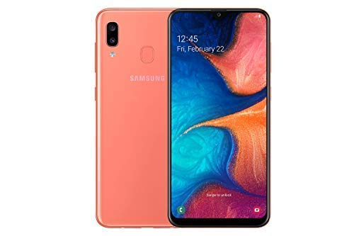 Samsung Galaxy A20e 32GB Android Dual-SIM 5.8-Inch Android Smartphone - Coral (UK Version) Best Price and Cheapest