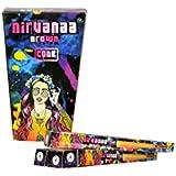 Nirvanaa Brown Luxury Pre Rolled Cone Rolling Paper/Smoking Paper (Pack Of 10)