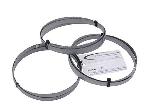 3er SET Sägeband Bi-Metall M 42 Abmessung 1435x13x0,65 mm 8/12 ZpZ z.B. für Güde MBS 125 V Metallsägeband