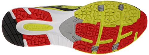 Salomon X-Scream 3D, Scarpe Sportive, Uomo Gelb (Gecko Green/Bright Red/Black)