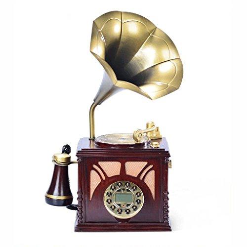 Touch-tone-telefon Telefon (Phone Vintage Phonograph Telefon altmodisch Touch-Ton Telefon altmodisch europäischen ländlichen Telefon Festnetz YHX)