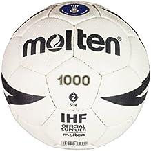 Molten H2X1000 – Balón de balonmano, color blanco, tamaño 2