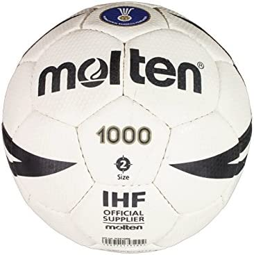Molten H2X1000 - Balón de balonmano, color blanco, tamaño 2