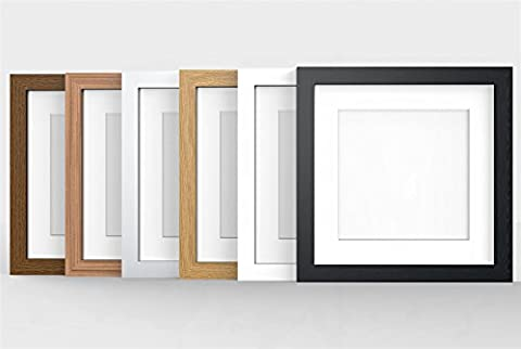 8X8 OAK MODERN PHOTO PICTURE POSTER FRAME WITH QUALITY IVORY
